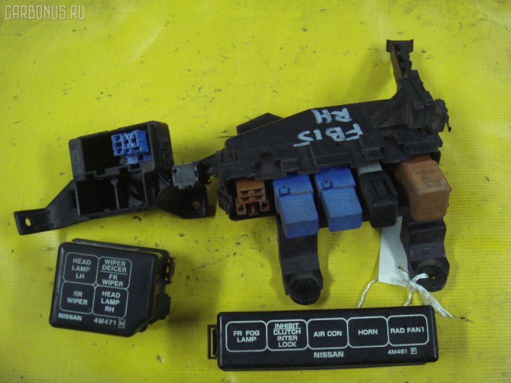 Блок предохранителей NISSAN SUNNY FB15 QG15DE. Фото 1