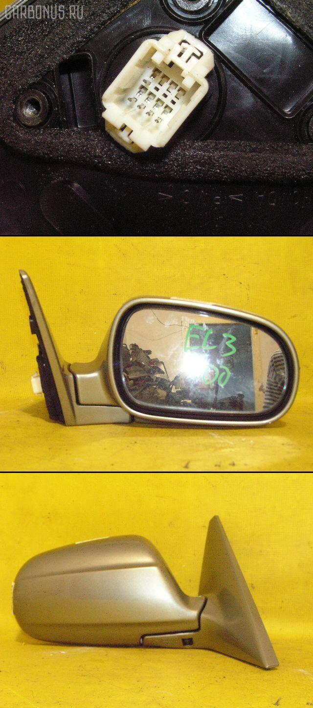 Зеркало двери боковой HONDA ORTHIA EL3. Фото 3