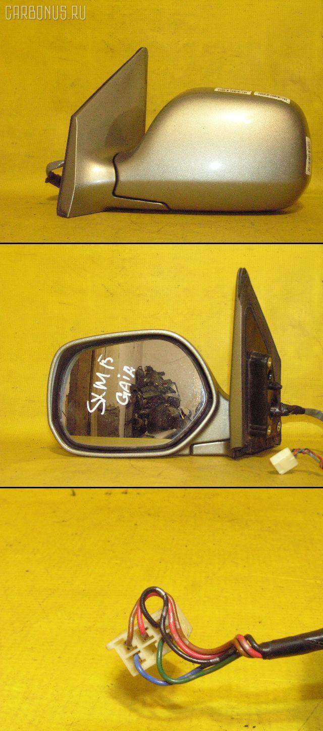Зеркало двери боковой TOYOTA GAIA SXM10G. Фото 4