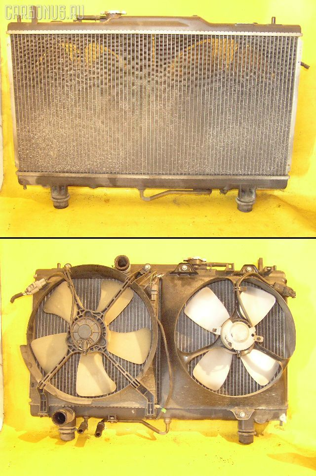 Радиатор ДВС TOYOTA CORONA PREMIO AT210 4A-FE. Фото 1