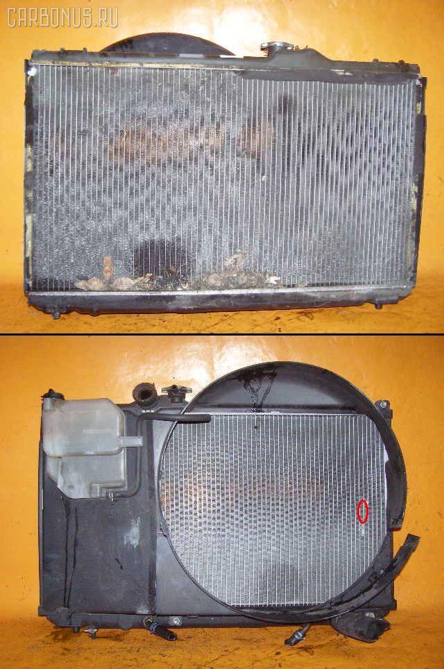 Радиатор ДВС TOYOTA JZX100 1JZ-GE. Фото 1