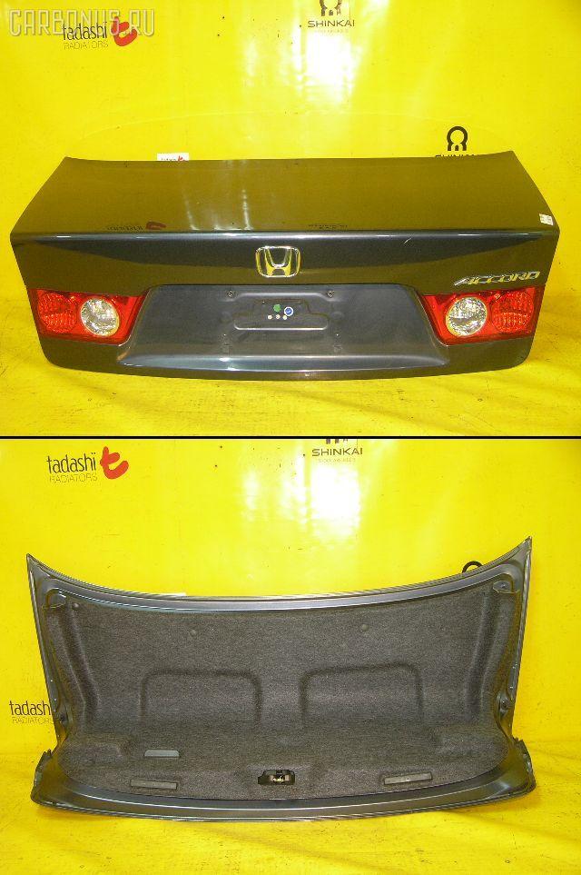 Крышка багажника HONDA ACCORD CL7. Фото 2
