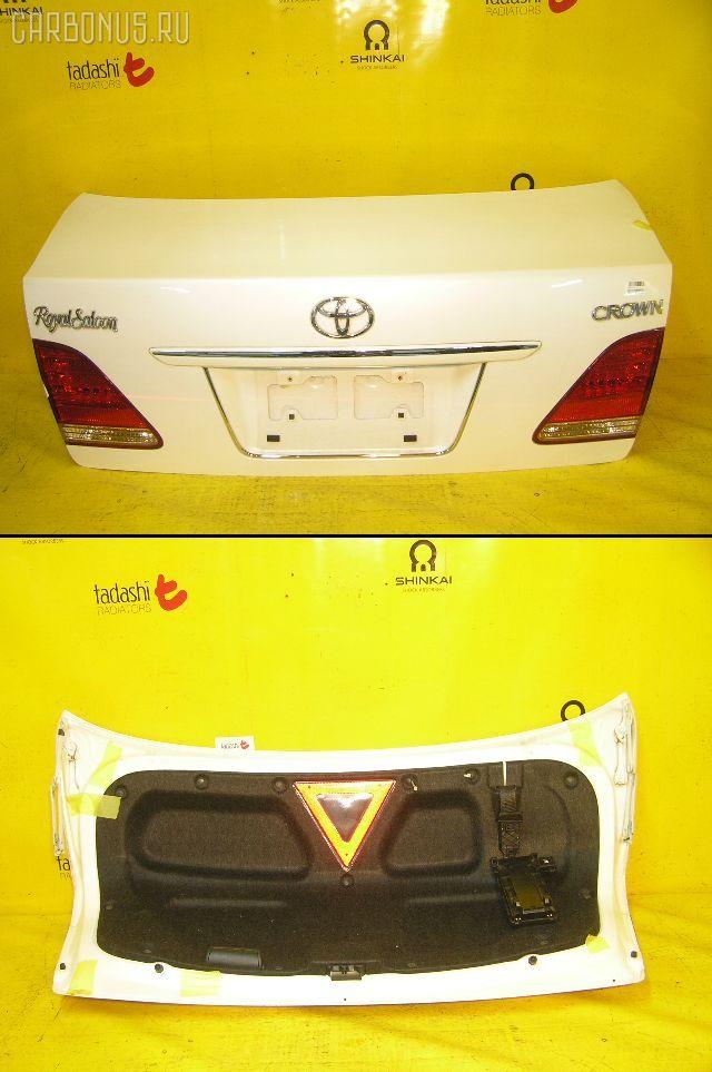 Крышка багажника TOYOTA CROWN GRS180. Фото 2