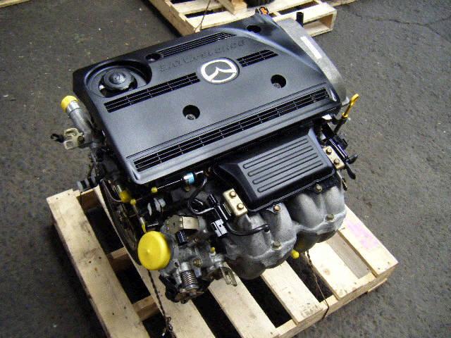 Двигатель MAZDA PREMACY CPEW FS-DE. Фото 3