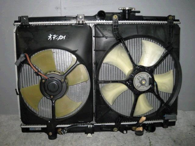Радиатор ДВС HONDA ODYSSEY RA4 F23A. Фото 3