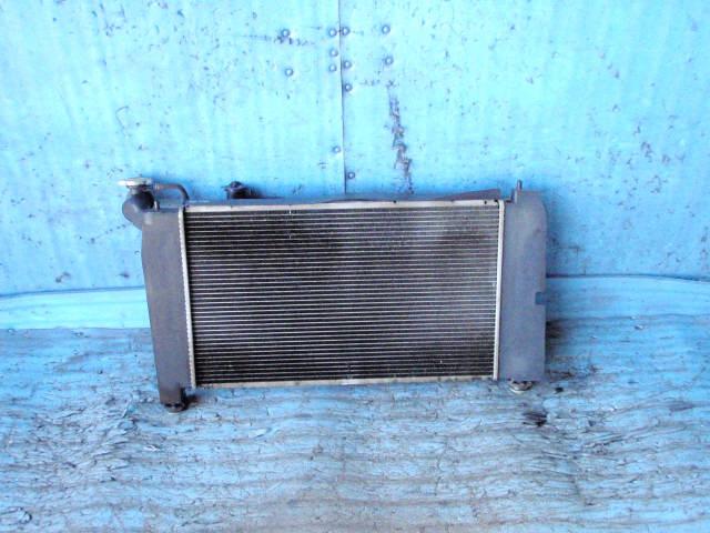 Радиатор ДВС TOYOTA COROLLA NZE124 1NZ-FE. Фото 9