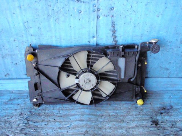 Радиатор ДВС TOYOTA COROLLA NZE124 1NZ-FE. Фото 8