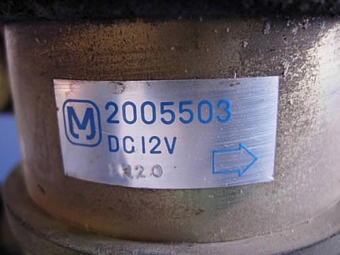 Мотор печки HONDA ACCORD INSPIRE CB5. Фото 2