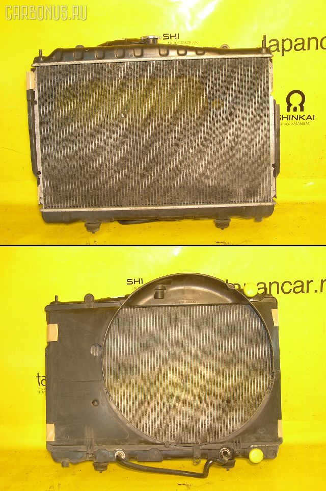 Радиатор ДВС NISSAN SKYLINE HR34 RB20DE. Фото 1