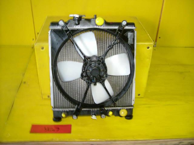 Радиатор ДВС HONDA DOMANI MB4 D16A. Фото 3
