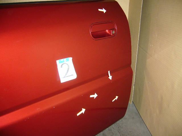 Дверь боковая HONDA LOGO GA3. Фото 3