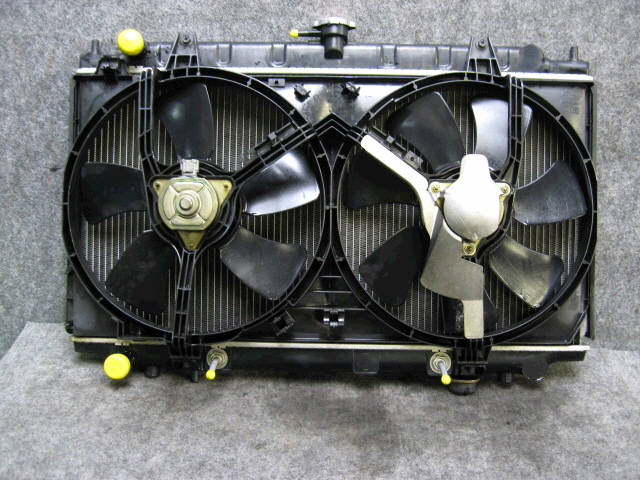 Радиатор ДВС NISSAN PRIMERA WAGON WQP11 QG18-DD. Фото 4