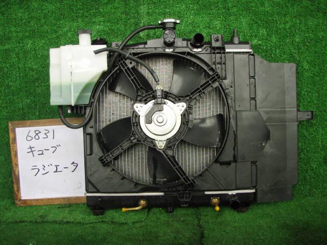 Радиатор ДВС NISSAN CUBE BZ11 CR14DE. Фото 4