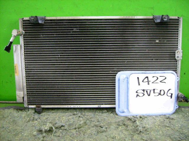 Радиатор кондиционера TOYOTA VISTA ARDEO ZZV50G 1ZZ-FE. Фото 5