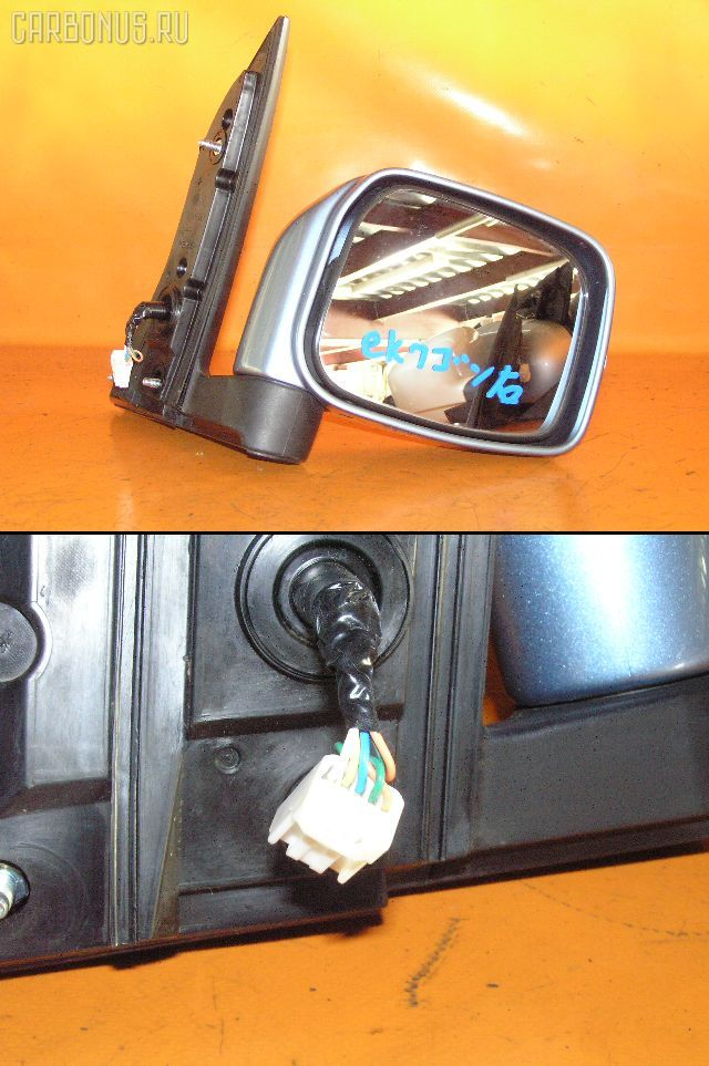 Зеркало двери боковой MITSUBISHI EK WAGON H81W. Фото 1