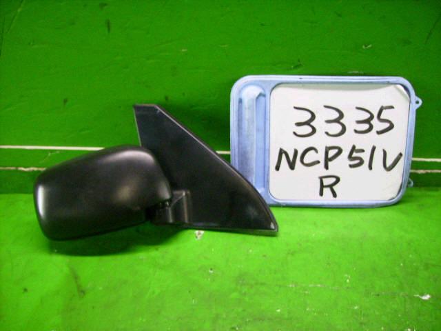 Зеркало двери боковой TOYOTA PROBOX NCP50V. Фото 4