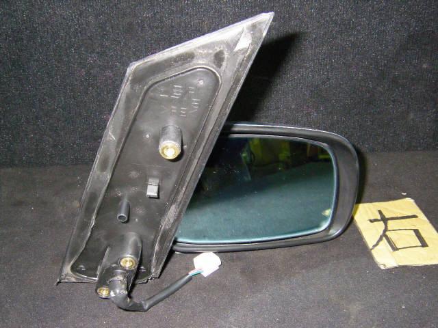 Зеркало двери боковой TOYOTA WISH ZNE10G. Фото 11