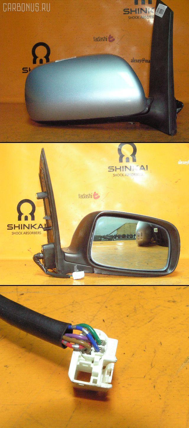 Зеркало двери боковой TOYOTA WISH ZNE10G. Фото 10