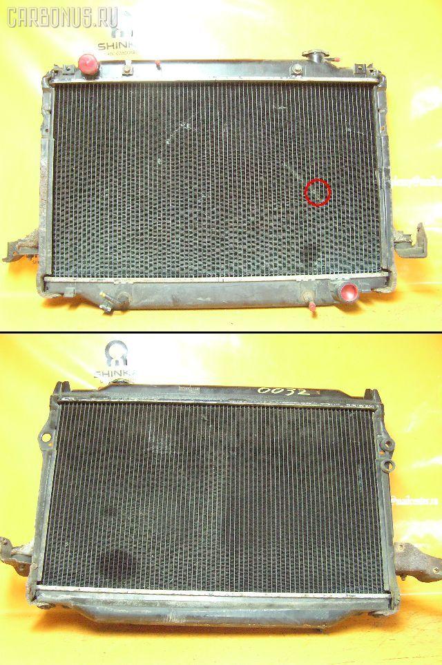 Радиатор ДВС TOYOTA LAND CRUISER FZJ80G 1FZ-FE. Фото 2