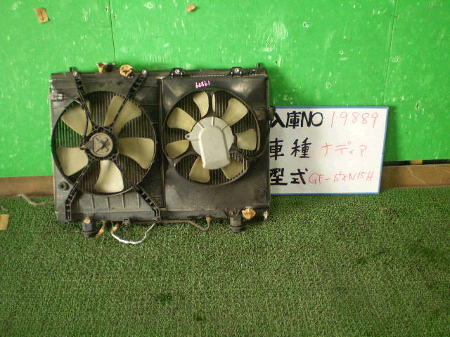Радиатор ДВС TOYOTA NADIA SXN15 3S-FE. Фото 4