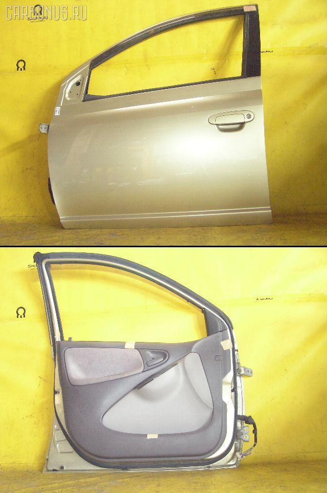 Дверь боковая TOYOTA PLATZ NCP12. Фото 5