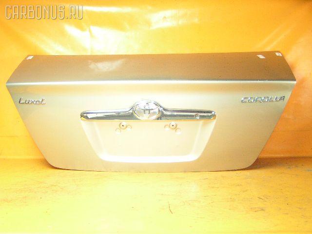 Крышка багажника TOYOTA COROLLA ZZE122. Фото 8