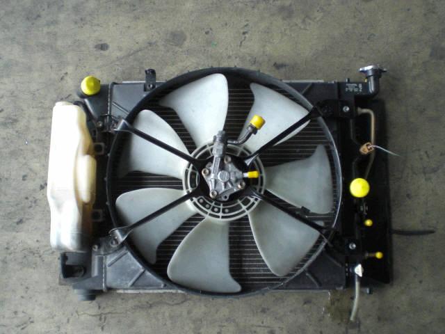 Радиатор ДВС TOYOTA CHASER JZX90 1JZ-GTE. Фото 5