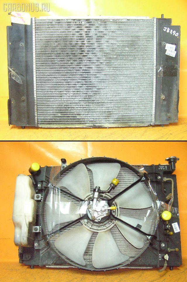 Радиатор ДВС TOYOTA JZX90 1JZ-GTE. Фото 4