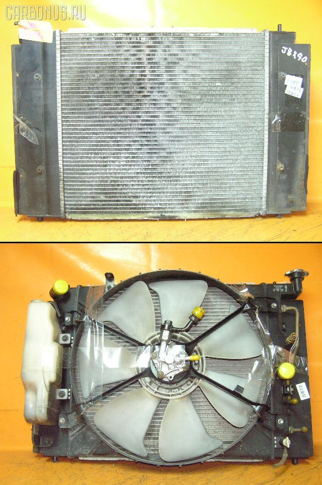 Радиатор ДВС TOYOTA CHASER JZX90 1JZ-GTE. Фото 4