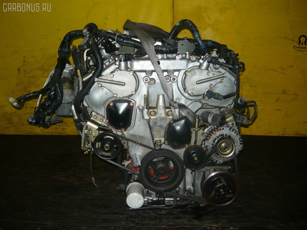 Двигатель NISSAN CEFIRO PA33 VQ25DD. Фото 1