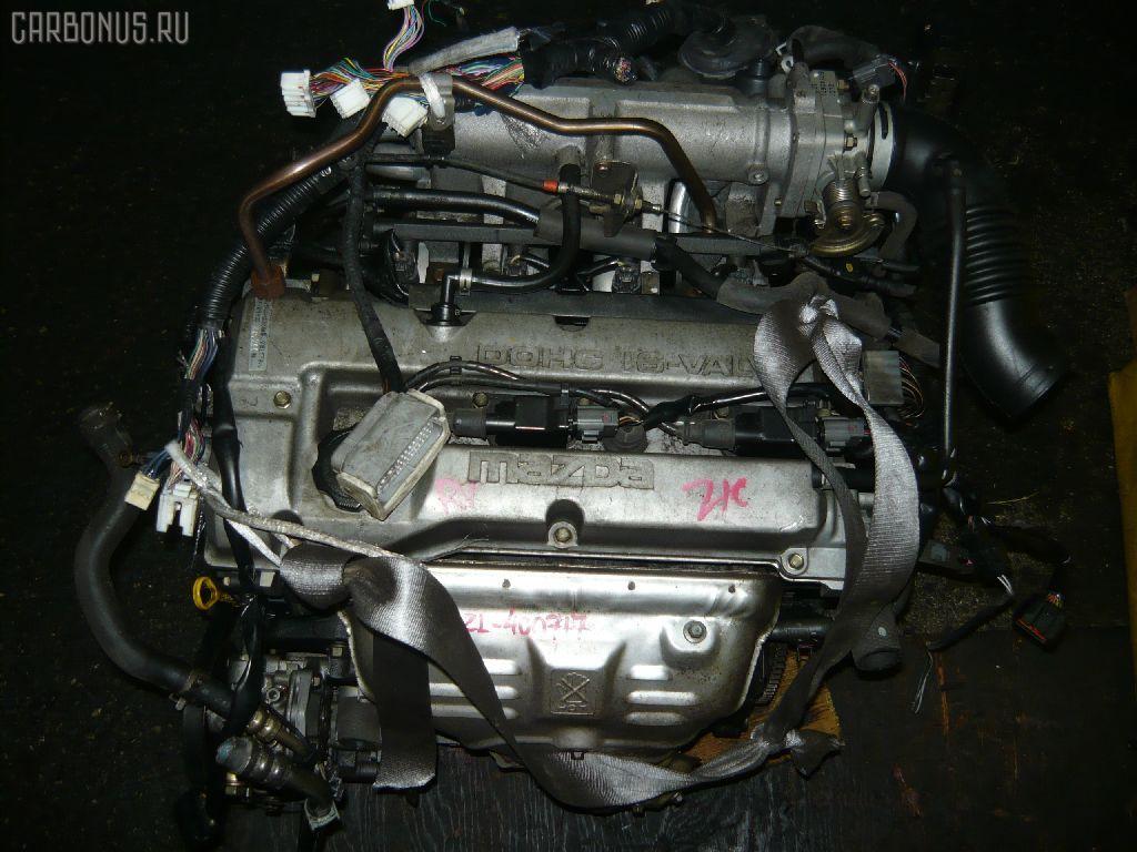 Двигатель MAZDA FAMILIA S-WAGON BJ5W ZL. Фото 5