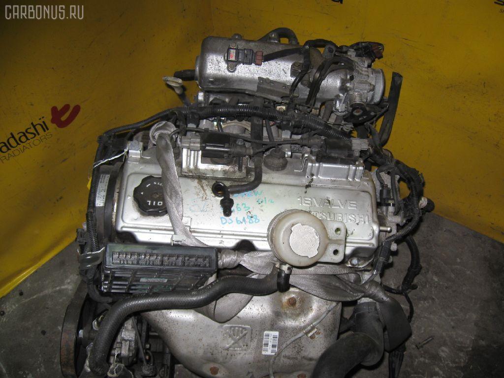 Двигатель MITSUBISHI AIRTREK CU2W 4G63. Фото 5