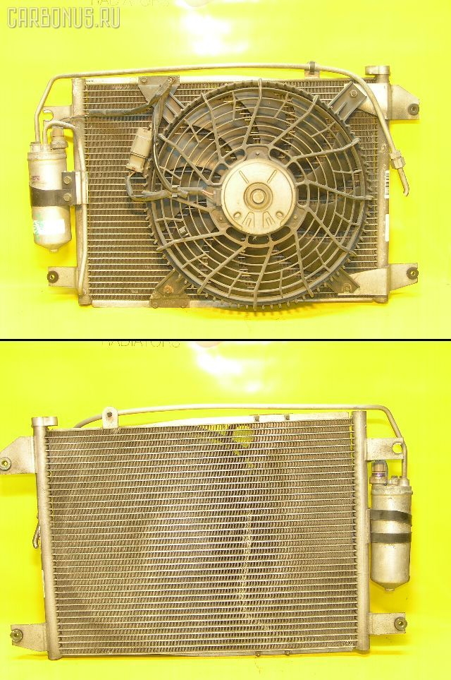 Радиатор кондиционера SUZUKI ESCUDO TA02W G16A. Фото 3