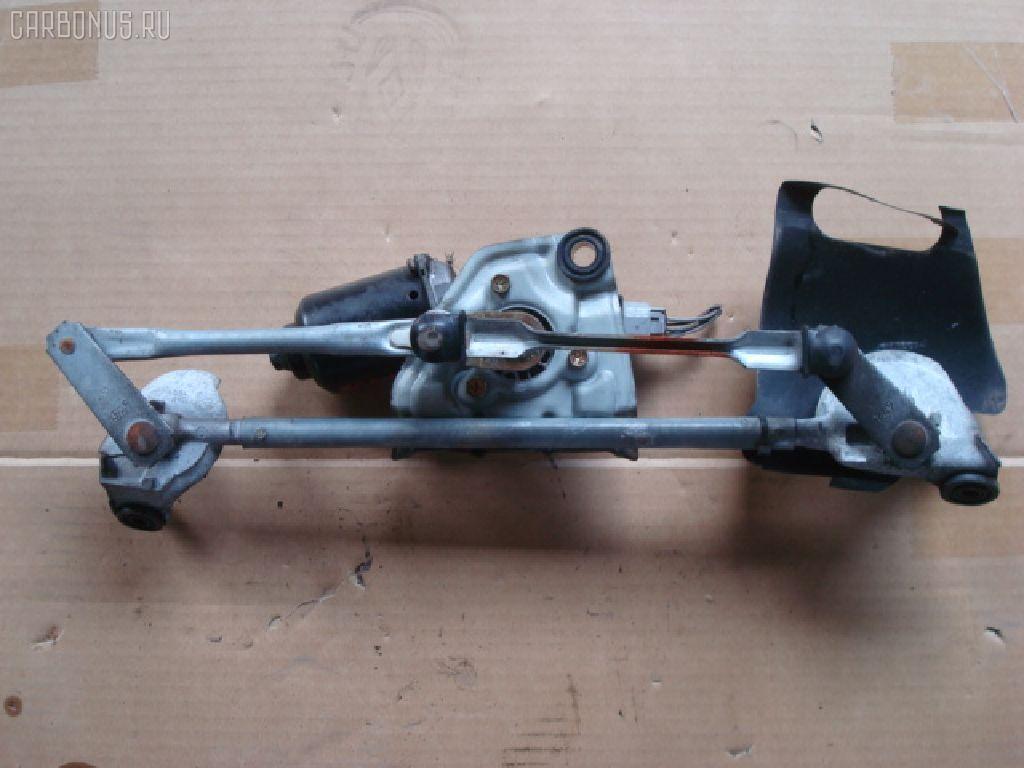 Мотор привода дворников TOYOTA VITZ SCP10. Фото 2