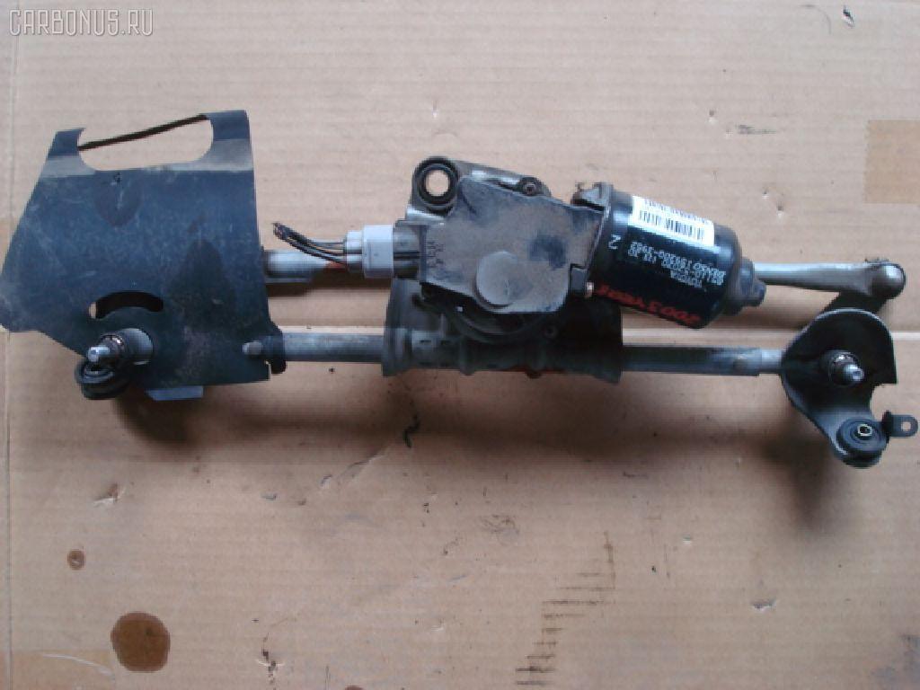 Мотор привода дворников TOYOTA VITZ SCP10. Фото 3