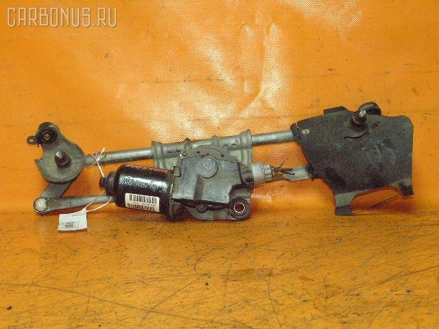 Мотор привода дворников TOYOTA VITZ SCP10. Фото 1