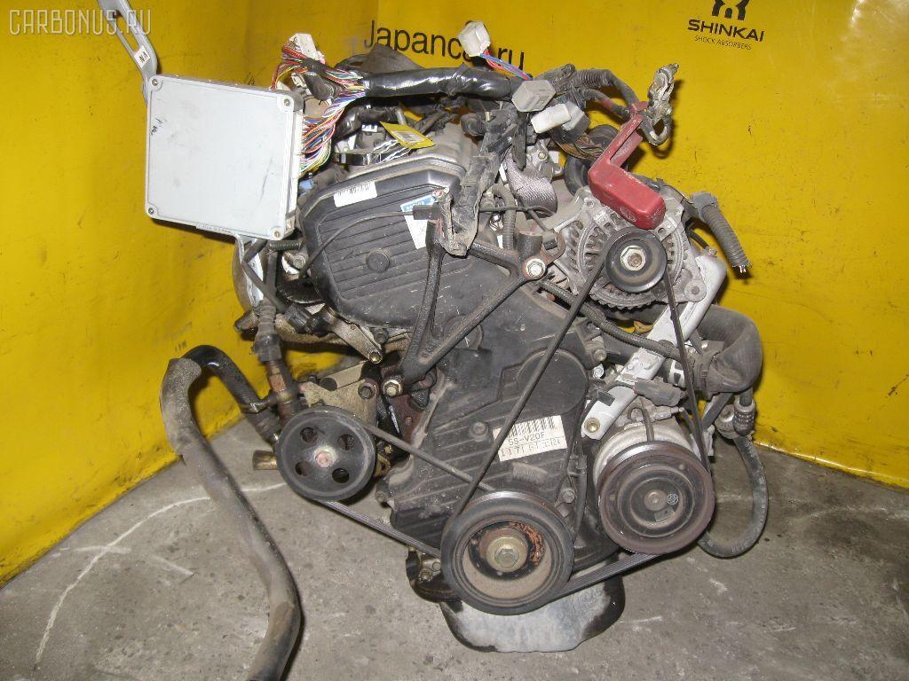 Двигатель TOYOTA MARK II QUALIS SXV25W 5S-FE. Фото 1