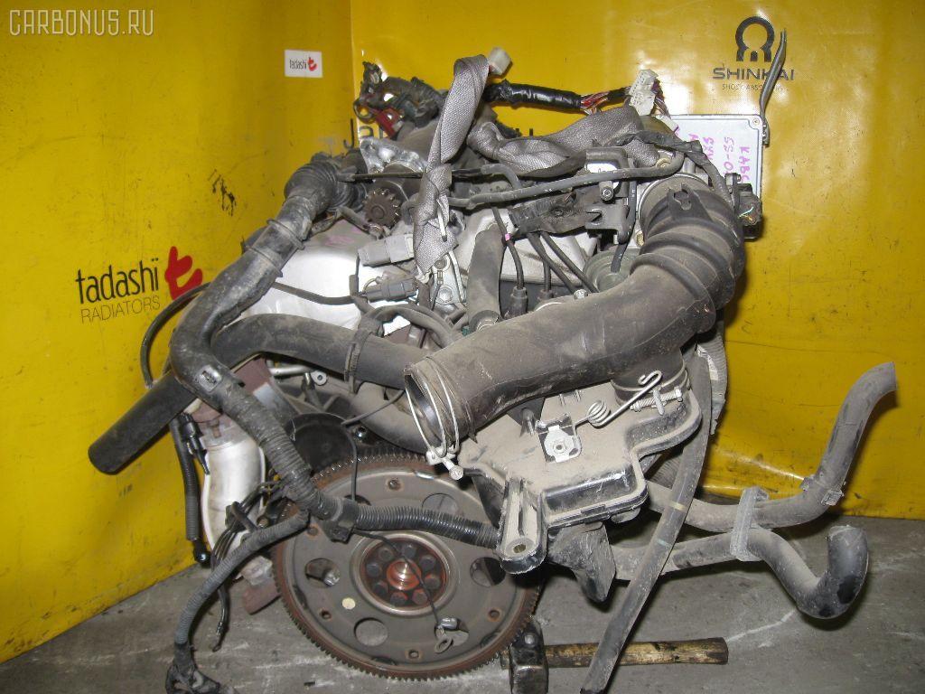 Двигатель TOYOTA MARK II QUALIS SXV25W 5S-FE. Фото 3