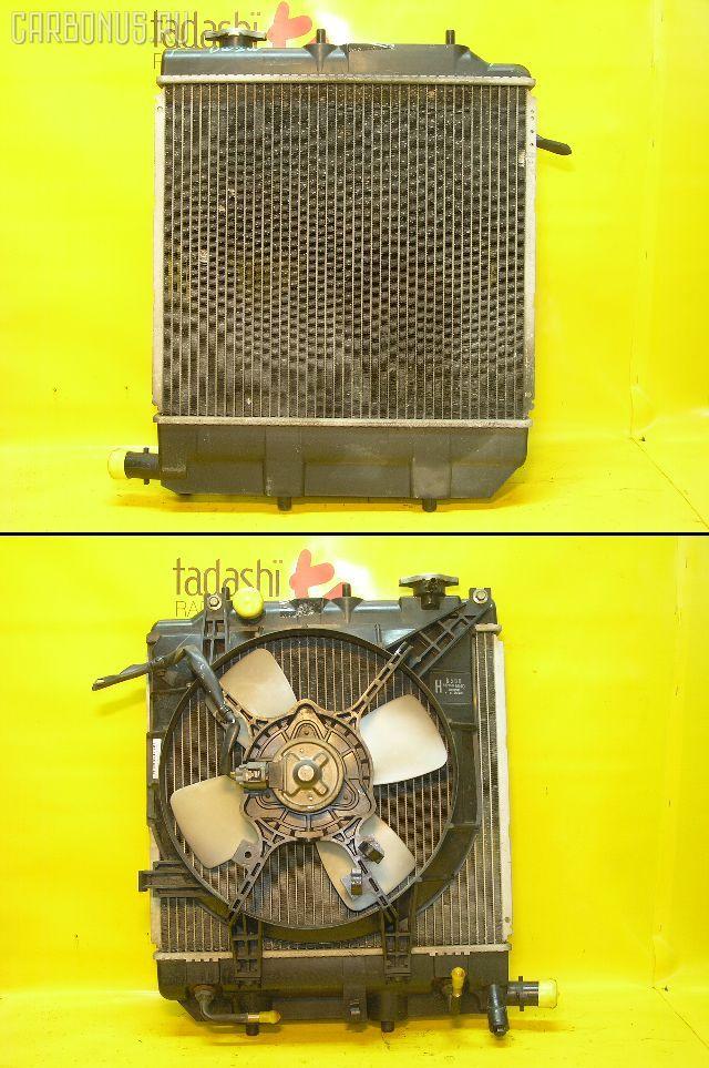 Радиатор ДВС MAZDA DEMIO DW3W B3-ME. Фото 8