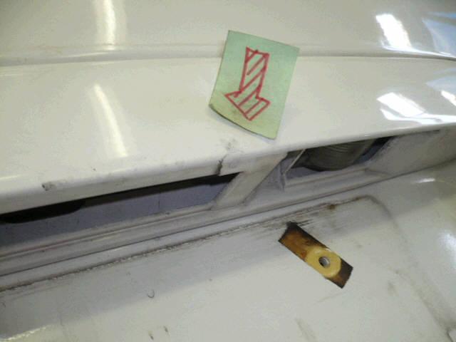 Дверь задняя MAZDA DEMIO DY3W. Фото 6