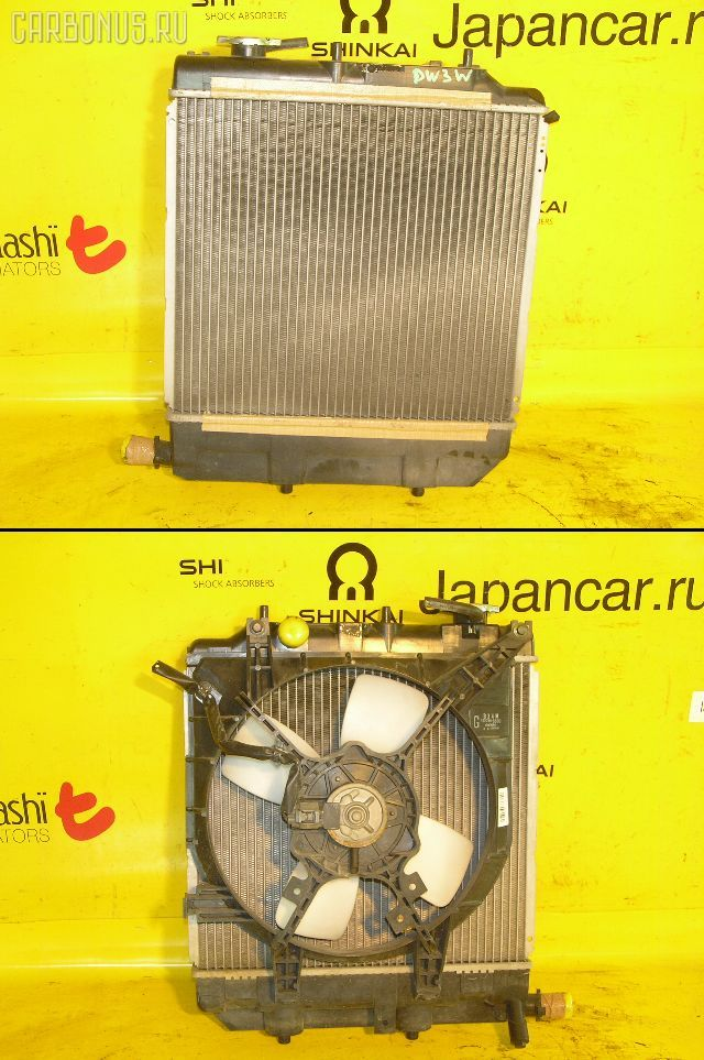 Радиатор ДВС MAZDA DEMIO DW3W B3. Фото 1