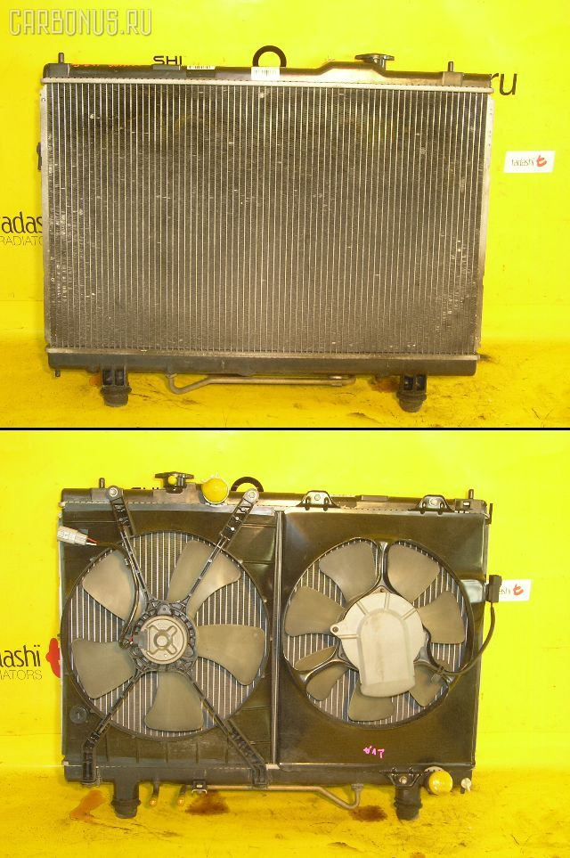 Радиатор ДВС TOYOTA GAIA ACM10G 1AZ-FSE. Фото 2