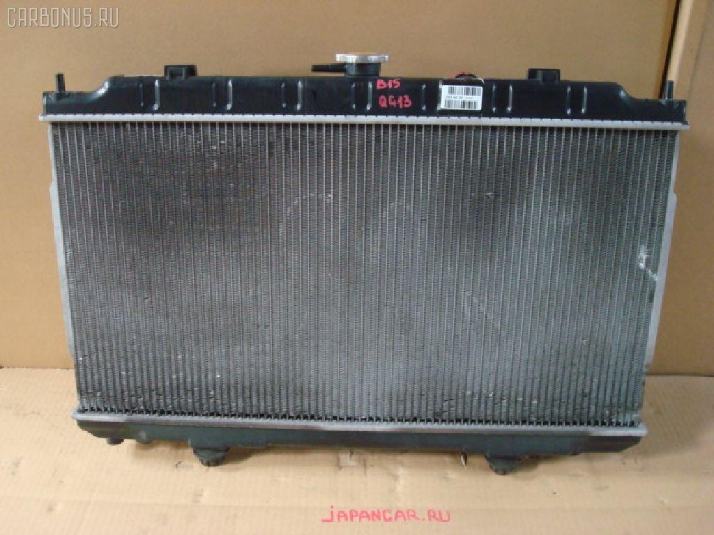 Радиатор ДВС NISSAN SUNNY B15 QG13DE. Фото 6
