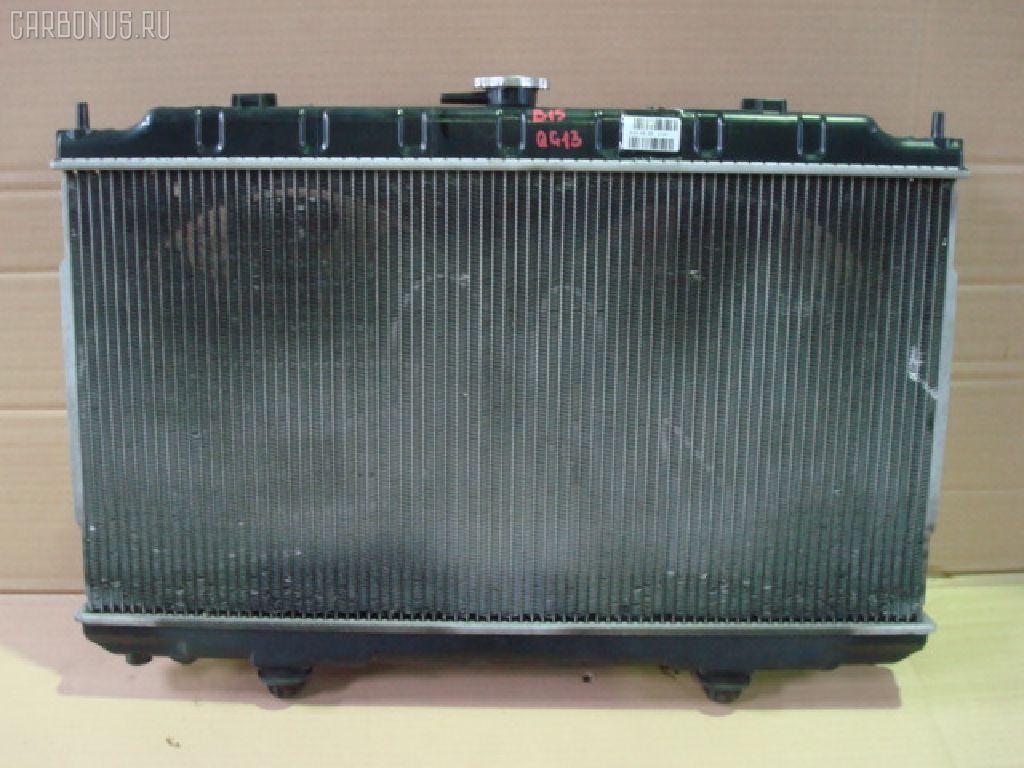 Радиатор ДВС NISSAN SUNNY B15 QG13DE. Фото 8