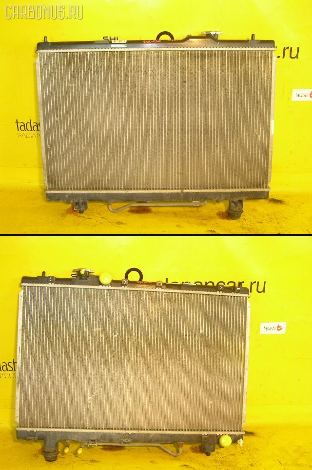 Радиатор ДВС TOYOTA GAIA ACM10G 1AZ-FSE. Фото 6