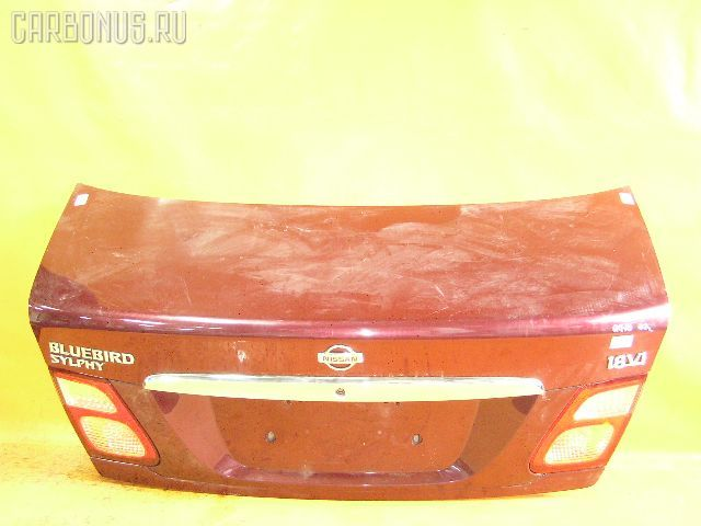 Крышка багажника NISSAN BLUEBIRD SYLPHY QG10. Фото 11