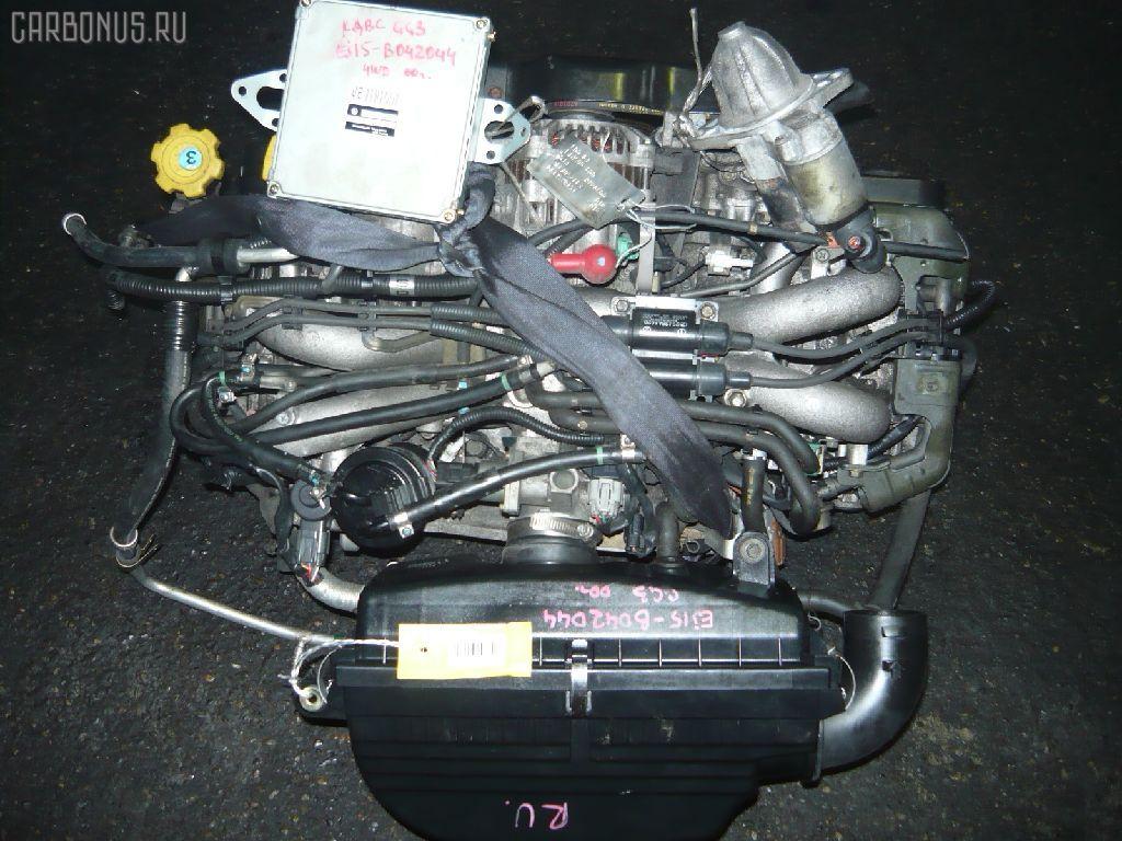 Двигатель SUBARU IMPREZA WAGON GG3 EJ152. Фото 4