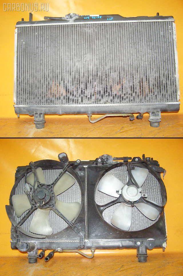 Радиатор ДВС TOYOTA CORONA PREMIO AT210 4A-FE. Фото 2