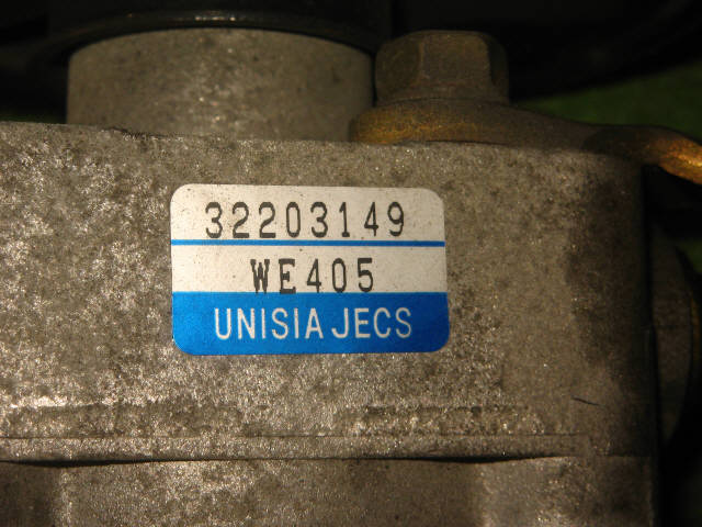 Гидроусилителя насос NISSAN AD VAN VFY11 QG15DE. Фото 2
