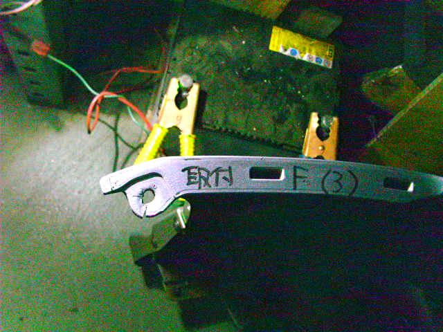 Бампер HONDA FIT GD1. Фото 6